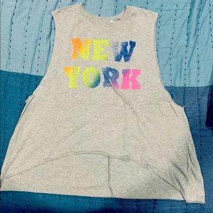 Women's New York Colorful Tee